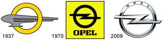 Redesign am Beispiel des Opel Logos